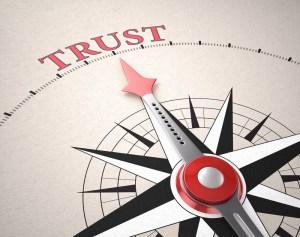 Trust big compass
