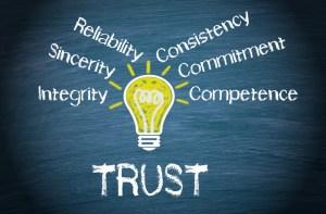 Trust elements blackboard