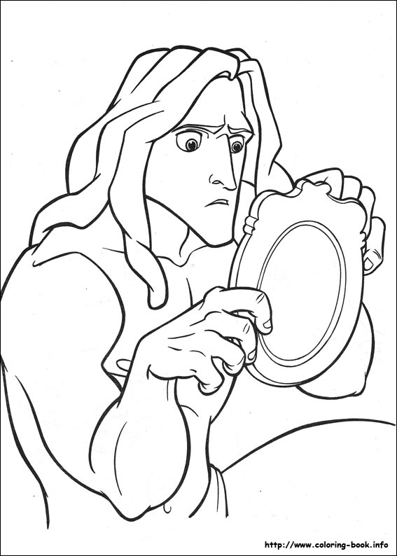images tarzan coloring pages - photo#38