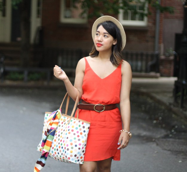 summer style summer outfit summer look of the day summer style orange summer dress orange dress orange shift dress shift dress swing dress orange dress spring dress summer dress summer outfit