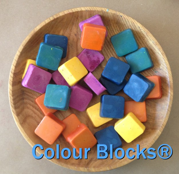 Kids Eco Crayons , natural beeswax handcrafted crayons
