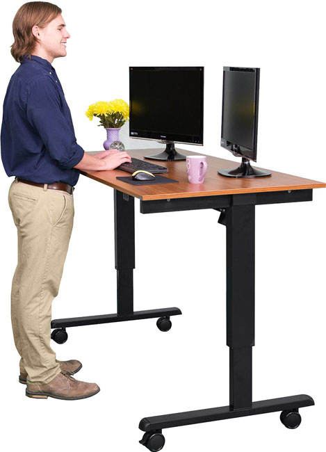 Stand Up Desk 60-inch Electric Stand Up Desk