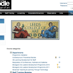 Leeds College of Art VLE