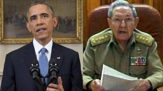 Obama-Raoul Castro