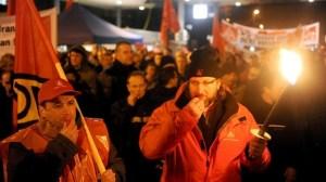 sciopero Mercedes-Benz Brema
