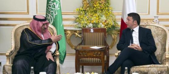 Renzi a Riad