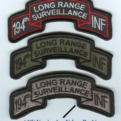 P 08450 194th Long Range Surveillance Scroll Combatcasuals Com