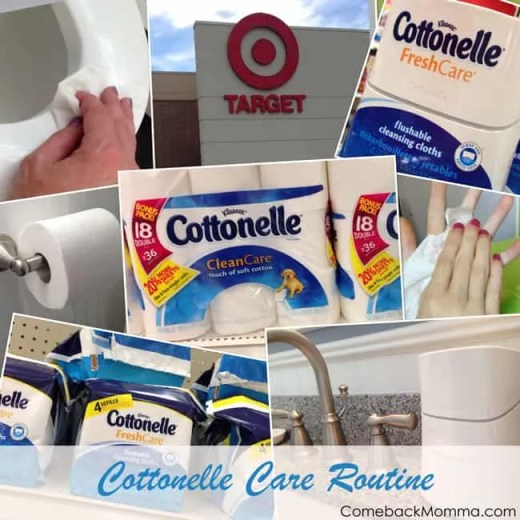 #cottonelleroutine Cottonelle Care at Target