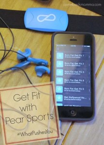 Pear Sports Review #WhatPushesYou @Pearsports #PearProof
