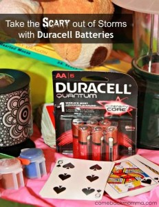 #PrepWithPower: Take the Scary out of Storms with Duracell Batteries #Shop