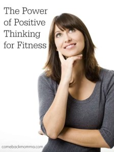 The power of positive thinking for fitness