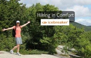 Hiking in New Hampshire with Icebreaker