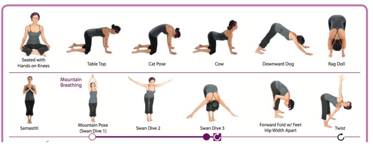 Yoga chair yoga fitness on pinterest chair yoga chair exercises - Yoga For Beginners Printables Comeback Momma