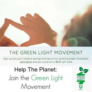 Help The Planet: Join the Green Light Movement