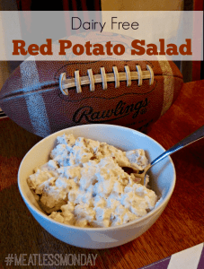 Meatless Monday – Dairy Free Red Potato Salad