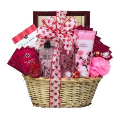 Valentine Gift Basket - Cup of Love Giveaway Hop