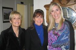 Leanne Morgan and Karen Mills with Mari Sanders
