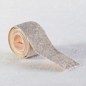 elastique-rose-nude-lurex-argent-30-mm