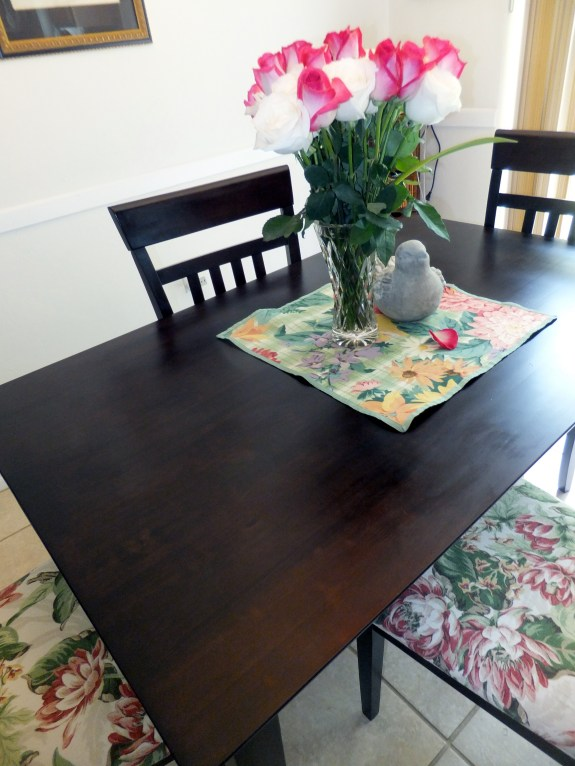 Roses & Updated Dining Chairs