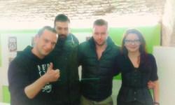 foto di gruppo con Immanuel