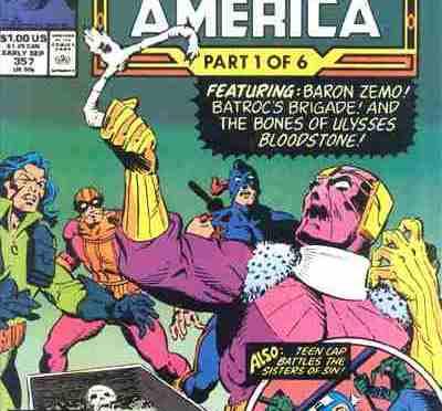 Comic Book Noise 637: Bloodstone and Captain America