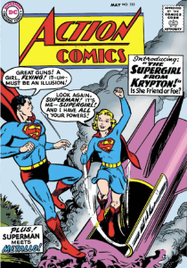 Supergirl first appearance