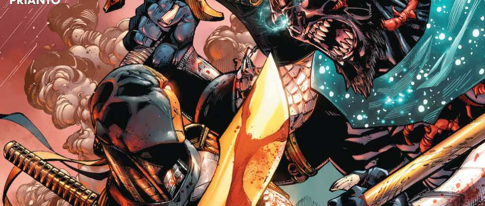 Deathstroke #10 Review