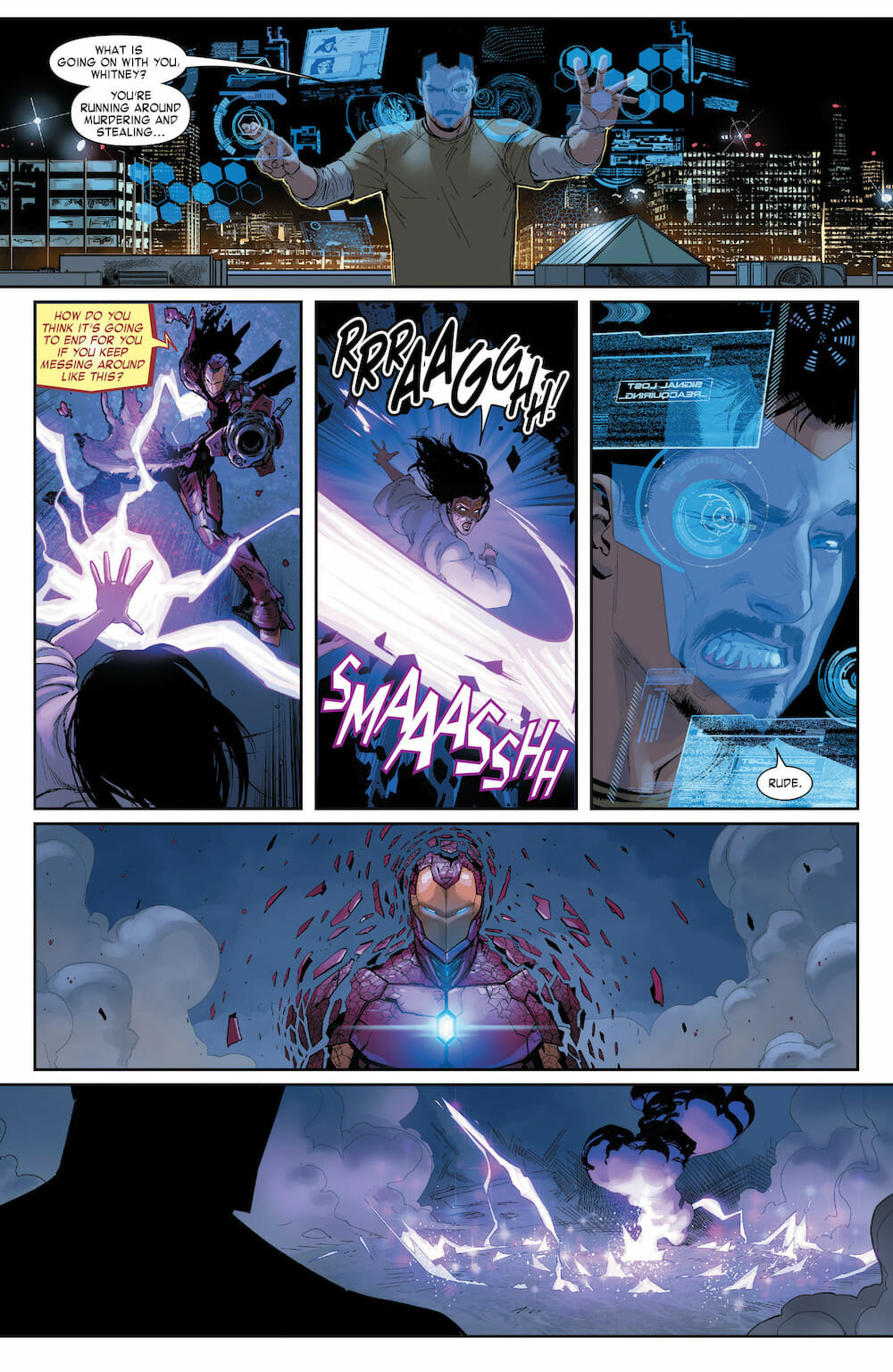 iron man 3 review Invincible iron man #3 features a more powerful, more deranged madame masque than ever before see why in our review.