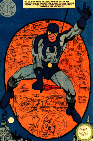 Blue Beetle version Ted Kord...