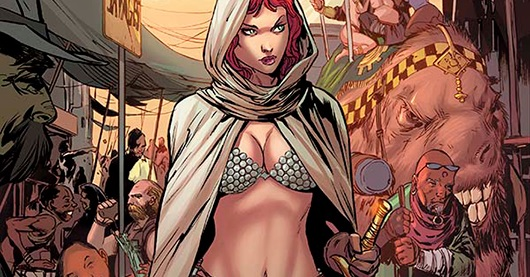 Comics Review: Altered States Red Sonja
