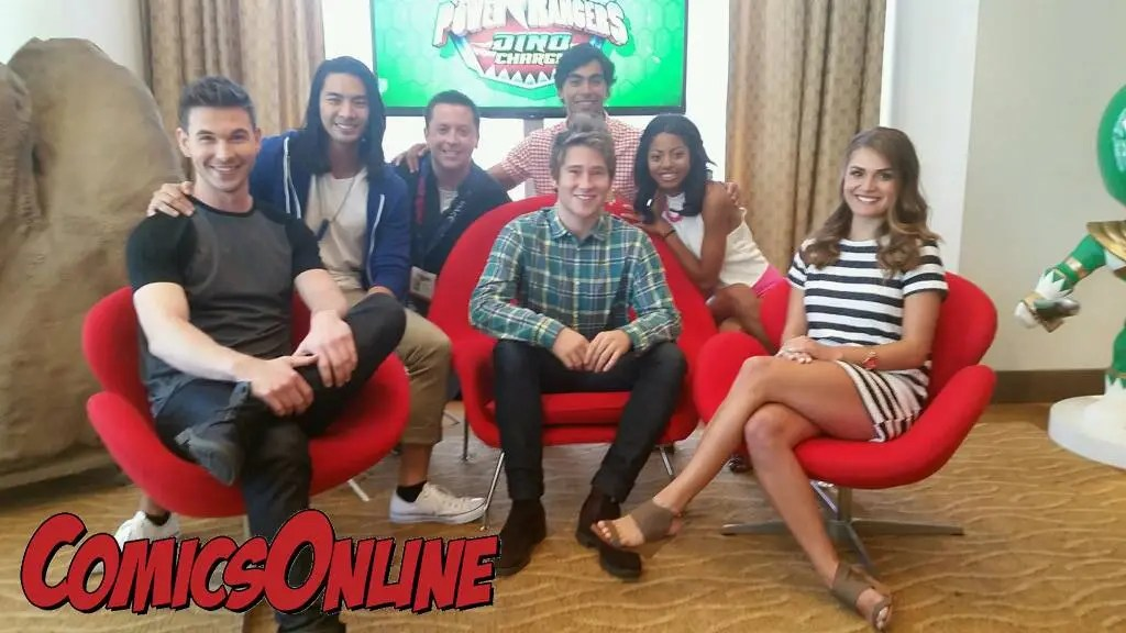 SDCC 2015: Interview with The Cast of Power Rangers Dino Charge
