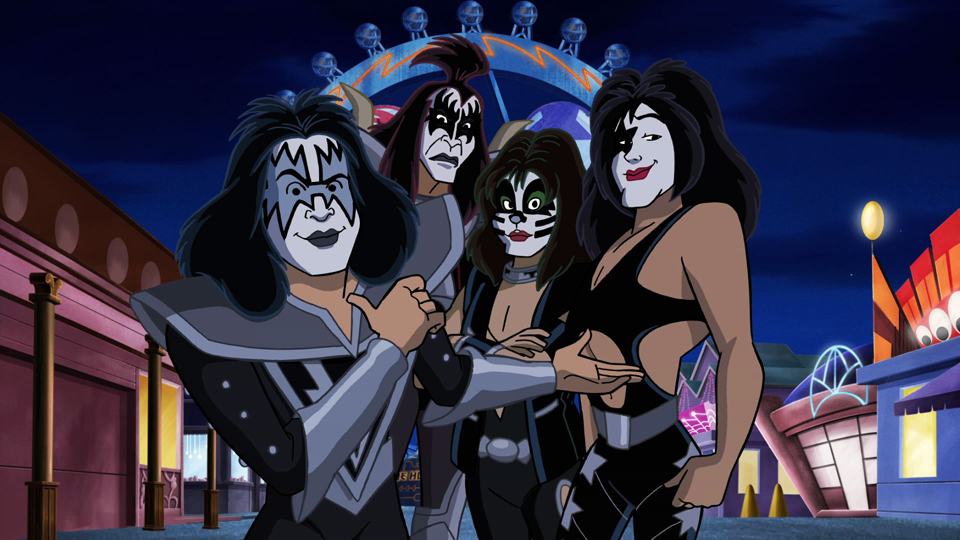 Blu-ray Review: Scooby Doo & KISS: Rock and Roll Adventure