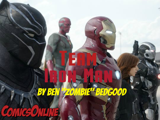 Editorial: Team Iron Man