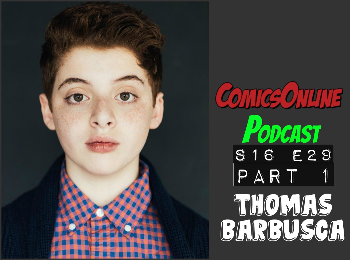 Podcast: ComicsOnline Podcast S16E29 Part 1 Thomas Barbusca