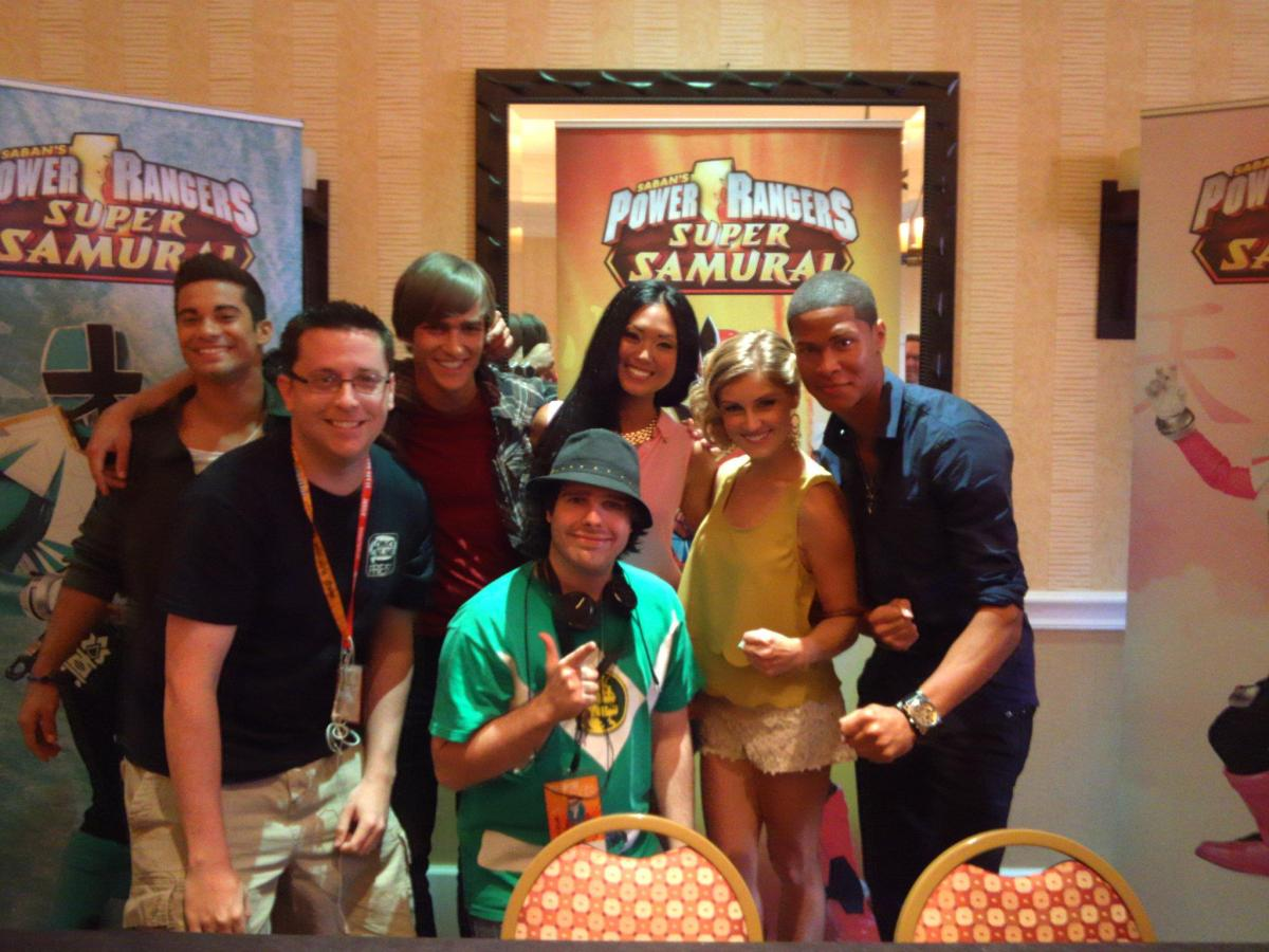 SDCC 2012: Power Rangers Samurai - Cast Interview