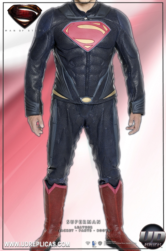 """Gift Guide 2013: """"Man of Steel"""" Leather Suit from UD Replicas"""