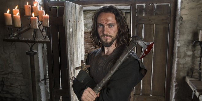 Interview:  George Blagden from Vikings