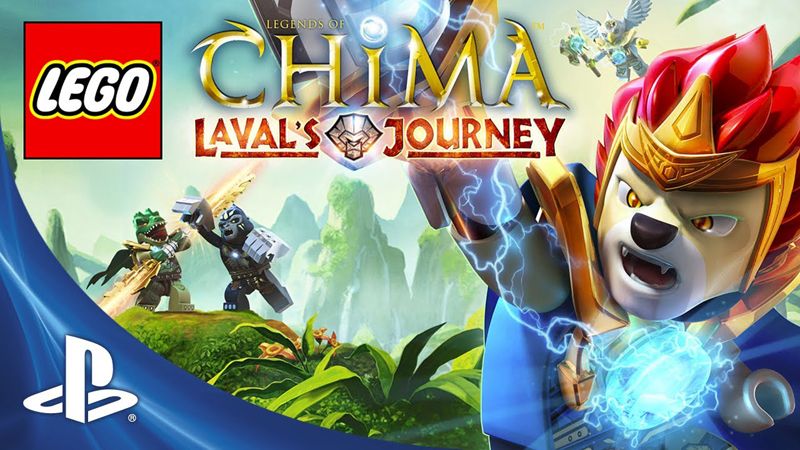 Videogame News: LEGO Legends Of Chima - Laval's Journey