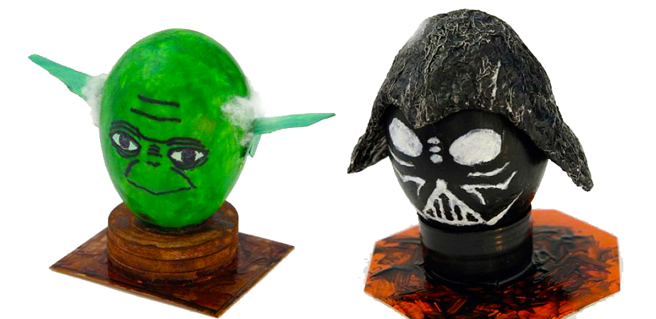 Holiday News: Decorate Your Easter Eggs Lego Star Wars Style