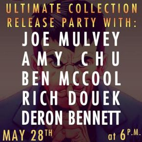 SCAM Ultimate Collection Release Party at Forbidden Planet NYC!