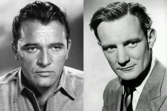 Richard Burton et Trevor Howard, les deux légendes britanniques qui donnèrent leur nom au mentor de Bond