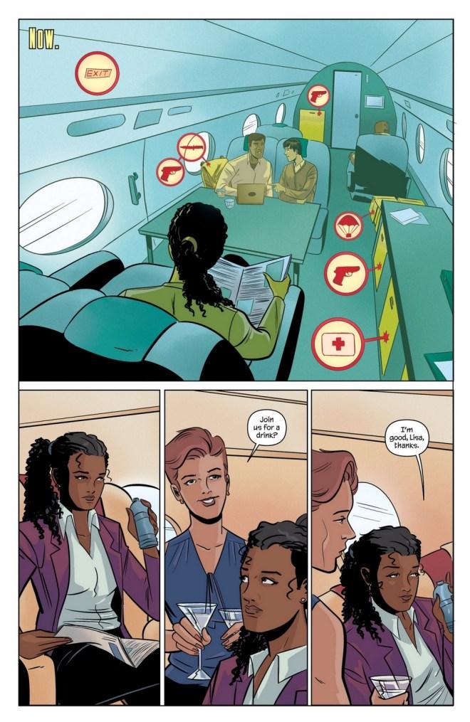 Moneypenny comics 7