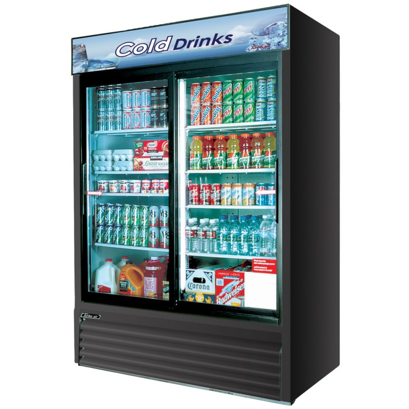 Large Of Glass Front Refrigerator