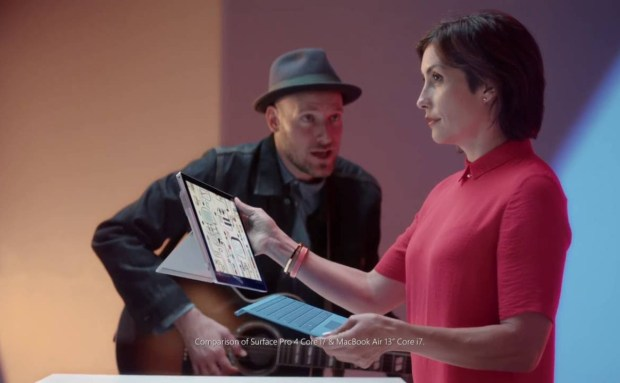 Detachable Keyboard | Surface Pro 4 Commercial Song