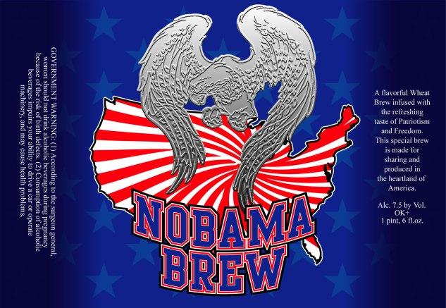 Nobama Beer Label
