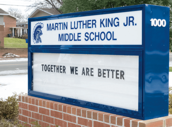 VCU students tutor math, English at MLK Middle School