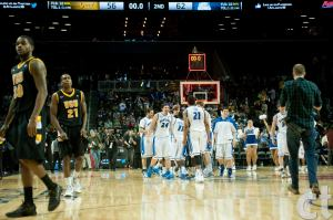 VCU falls 62-56 to Saint Louis in A-10 title game. (Photo by Chris Conway)