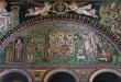 San Vitale, Ravenna, Italia: Abramo e i tre  ospiti a Mamre