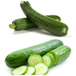 Small Of Zucchini Vs Cucumber
