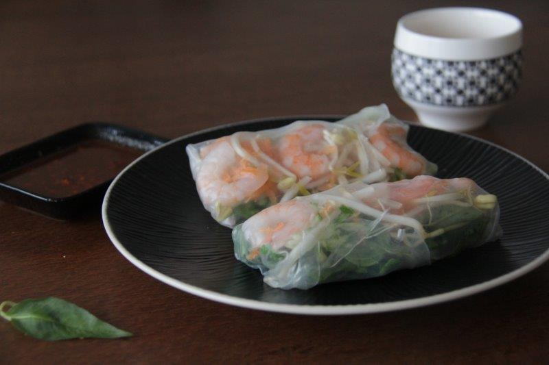 how to keep rice paper rolls fresh
